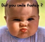 did you smile today baby pic