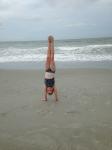 Handstand shot!
