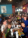 The team dinner!