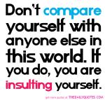 comparison-you